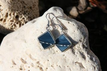 Earrings square - Tiffany jewelry