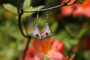 earrings triangle - Tiffany jewelry