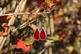earrings red small - Tiffany jewelry