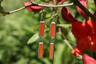 earrings orange - Tiffany jewelry