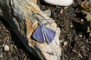 earrings purple - Tiffany jewelry