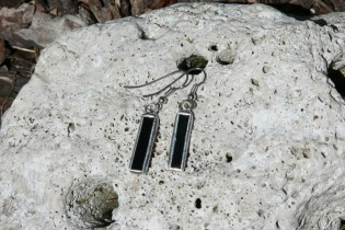 earrings black small - Tiffany jewelry