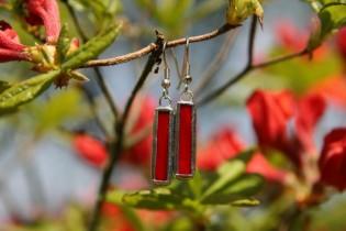 earrings red 3 - Tiffany jewelry