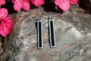earrings black long - Tiffany jewelry