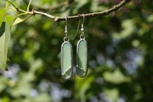 earrings green decorated2 - Tiffany jewelry