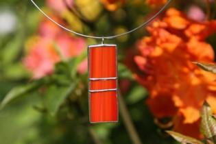 jewel red and orange - Tiffany jewelry
