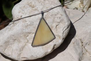 beige triangle - Tiffany jewelry
