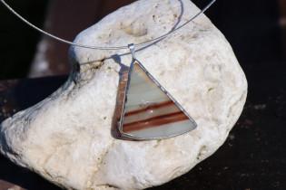 jewel brown triangle - Tiffany jewelry