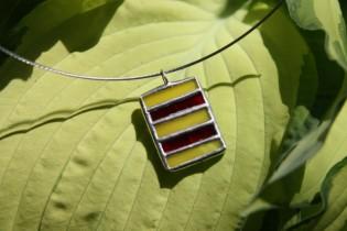 jewel red and yellow - Tiffany jewelry