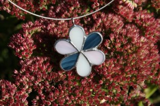 jewel flower three colors - Tiffany jewelry
