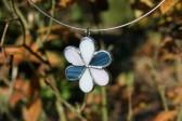 jewel flower three colors - Tiffany jewelry
