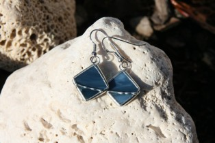 earrings color of the sea - Tiffany jewelry