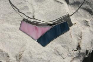 jewel pink and blue - Tiffany jewelry