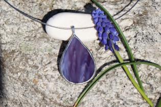 jewel a drop of violet - Tiffany jewelry