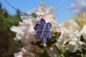 jewel flower purple - Tiffany jewelry