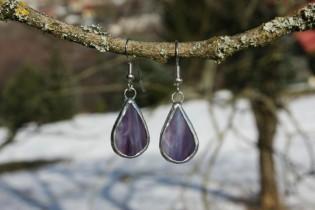 earrings purple2 - Tiffany jewelry