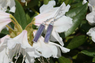 earrings purple 3 - Tiffany jewelry