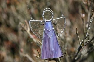 Angel purple - Tiffany jewelry