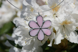jewel flower pink - Tiffany jewelry
