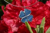 jewel flower blue - Tiffany jewelry