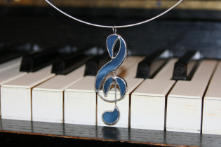 treble clef - Tiffany jewelry