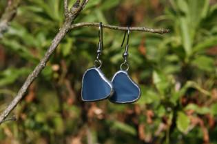 earrings hearts blue - Tiffany jewelry