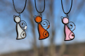 orange cat - Tiffany jewelry