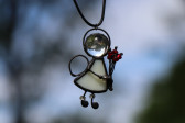 little angel on the neck - Tiffany jewelry