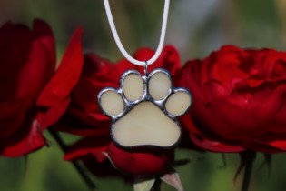 dog's paw - Tiffany jewelry