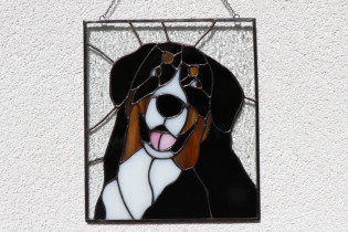 Bernese Mountain Dog - Tiffany jewelry