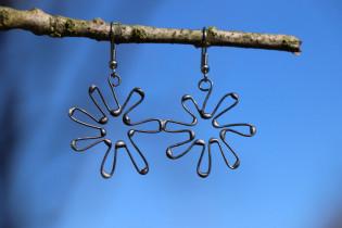 earrings flower - Tiffany jewelry
