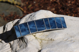 hair clip blue - Tiffany jewelry
